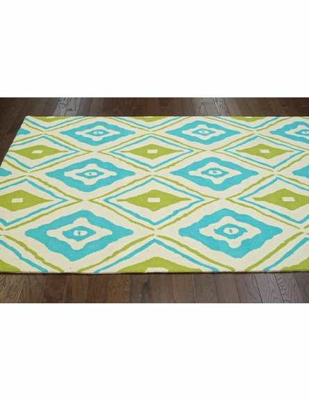 Athena Rug in Blue