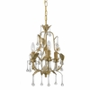 Athena Three Light Mini Chandelier II