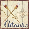 Atlantic Vintage Canvas Wall Art