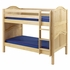 Aubrey Curved Panel Low Bunk Bed
