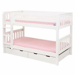 Aubrey Slatted Low Bunk Bed