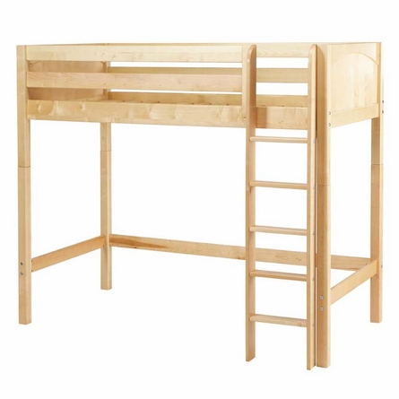 August Slatted High Loft Bed