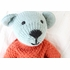 Austin Bear Hand-Knit Organic Stuffed Toy
