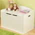 Austin Toy Box - White