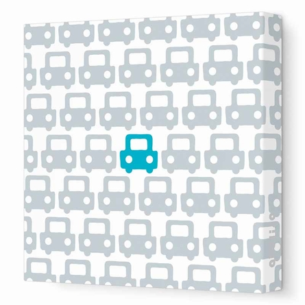 Auto Patterns Canvas Wall Art