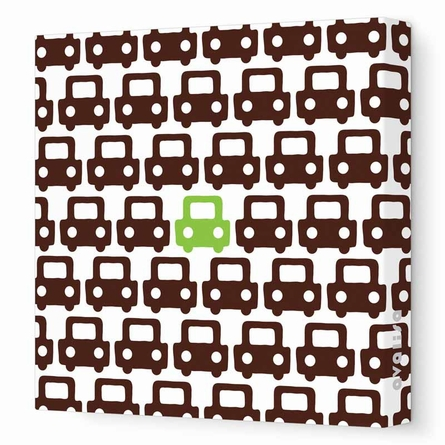 Auto Pattern Canvas Wall Art