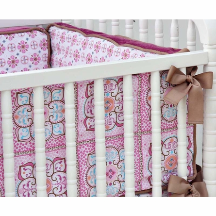Ava 3-Piece Crib Bedding Set