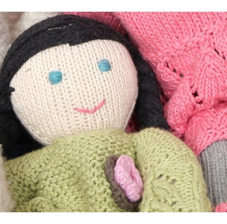 Ava Hand-Knit Organic Stuffed Toy