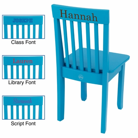 Avalon Chair in Aqua
