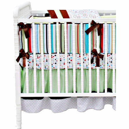 Avery 4-Piece Crib Bedding Set