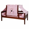 Avery Day Bed with Light Pink Tent
