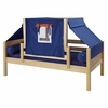 Avery Day Bed with Navy Blue Tent