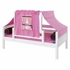 Avery Daybed with Pink and Light Pink Tent