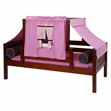 Avery Day Bed with Pink and Light Pink Tent
