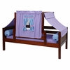 Yo Day Bed with Purple and Blue Tent