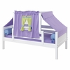 Avery Day Bed with Purple and Green Tent