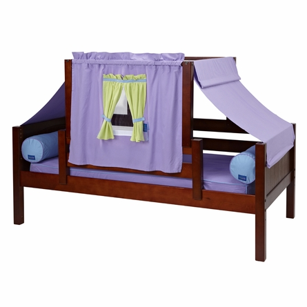Avery Daybed with Purple and Green Tent