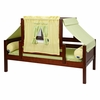 Avery Day Bed with Yellow and Green Tent