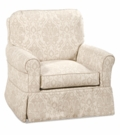 Avery Slipcovered Swivel Glider Chair