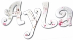 Ayla Kingdom Hand Painted Wall Letters