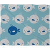 Baby Beach Bum Fleece Throw Blanket