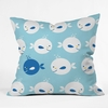 Baby Beach Bum Throw Pillow