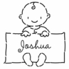 Baby Boy Personalized Self-Inking Stamp