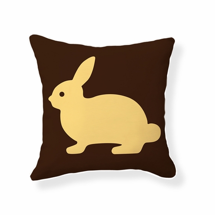Baby Bunny Reversible Throw Pillow