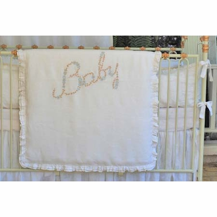 Baby Embroidered Crib Duvet