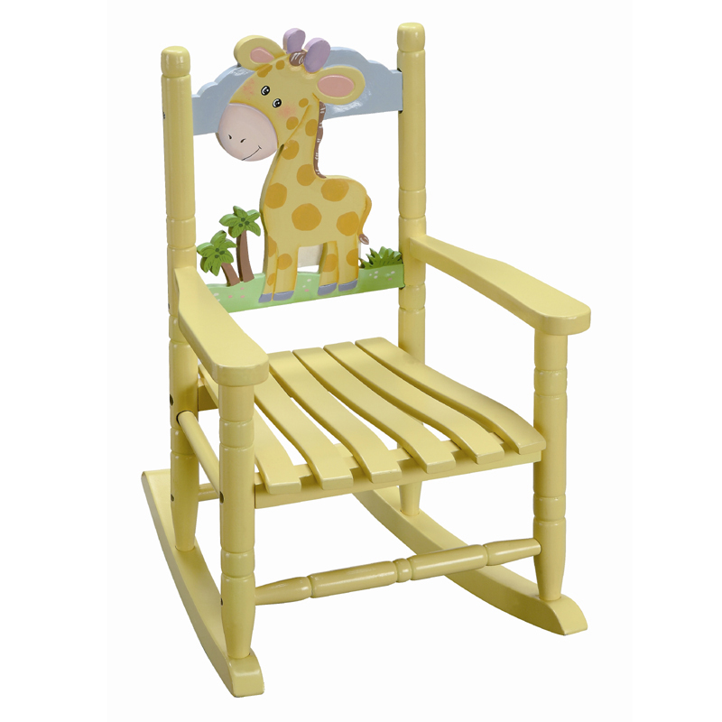 Baby Giraffe Rocking Chair RosenberryRooms