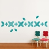 Baby Leaves in Teal Wall Decal