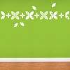 Baby Leaves in White Wall Decal