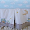 Baby Owls Crib Skirt