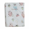 Baby Owls Fitted Crib Sheet