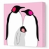Baby Penguins Canvas Wall Art