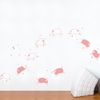 Baby Sheep in Pink Pastel Wall Decal