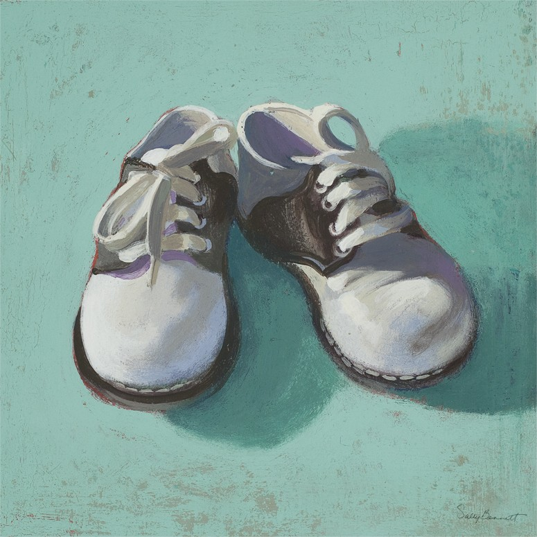 Baby Shoes Boy Canvas Wall Art By Oopsy Daisy