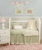 Baby Toile Green Toddler Bedding Set