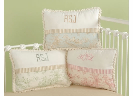 Baby Toile Pink Toddler Bedding