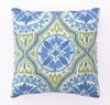Back Bay Blue & Green Hook Pillow