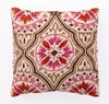 Back Bay Pink & Brown Hook Pillow