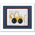 Backhoe Personalized Framed Canvas Reproduction