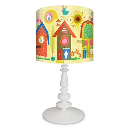 Backyard Birdhouses Lamp