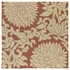 Bahama Rose Indoor/Outdoor Rug in Paprika