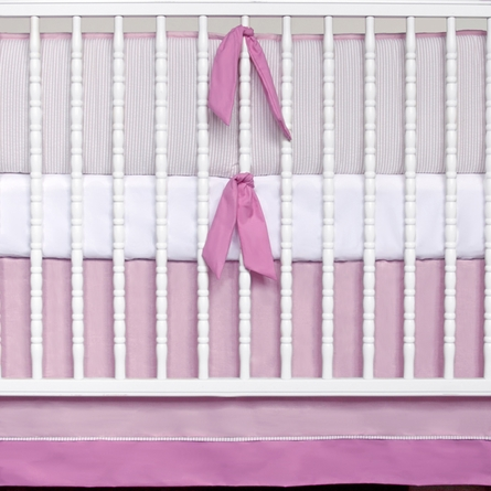 Balboa Seersucker 3-Piece Crib Bedding Set