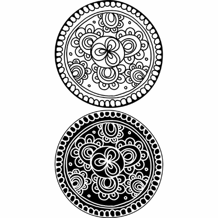 Bali Dot Wall Decals