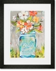 Ball Perfect Mason Jar Framed Art Print