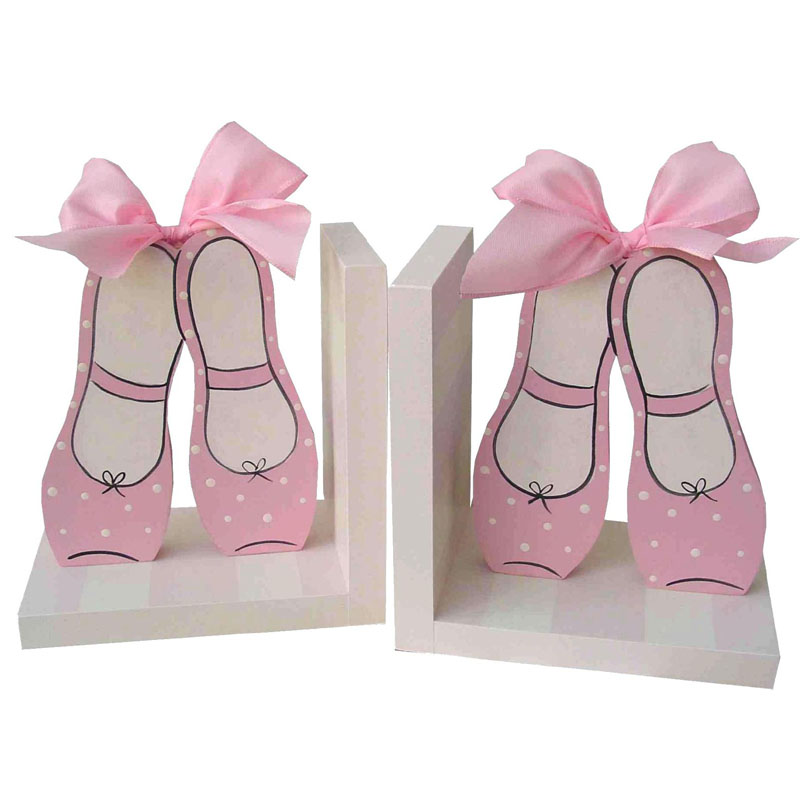 Ballet Shoe Bookends By Wish Upon A Star Rosenberryrooms Com