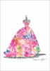 Ballgown Carnival Canvas Wall Art