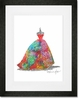 Ballgown Fruit Punch Framed Art Print